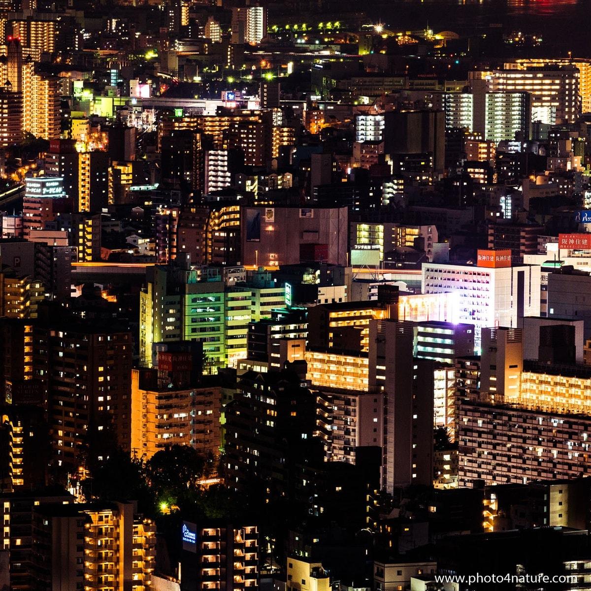 Osaka Cityscape by Night   FE 70-200 f2.8 GM @ 1 sec, f8