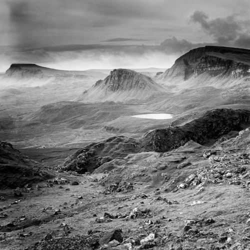 The Quiraing | Large Format 4x5 B&W Film